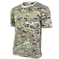 Камуфлированная футболка multicam