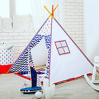 Вигвам детский шалаш Морской, фото 1
