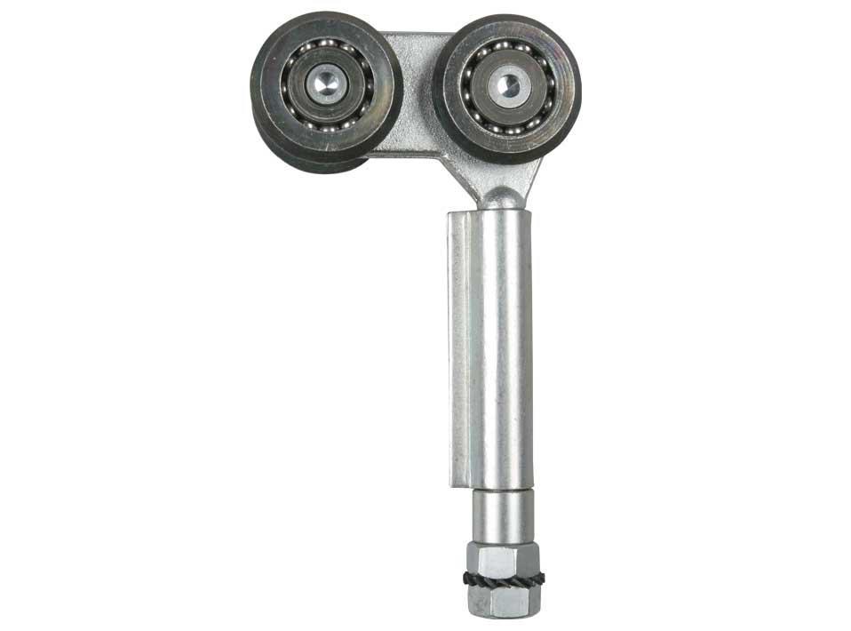 Каретка с петлёй для систем складывания гармошкой(с четырмя роликами 44мм. )