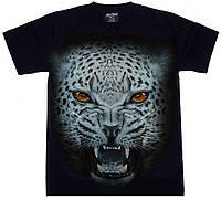 "Футболка ""Леопард"" (СВЕТИТСЯ В ТЕМНОТЕ) XXXL"