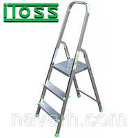 Стремянка алюминиевая 3 ступени ITOSS 913