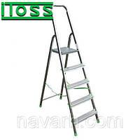 Стремянка алюминиевая 5 ступеней ITOSS 915