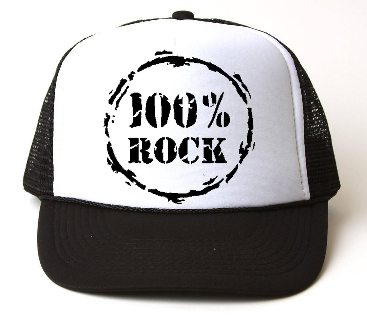 Кепка-тракер 100% ROCK