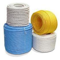 Веревка х/б цветная для декора