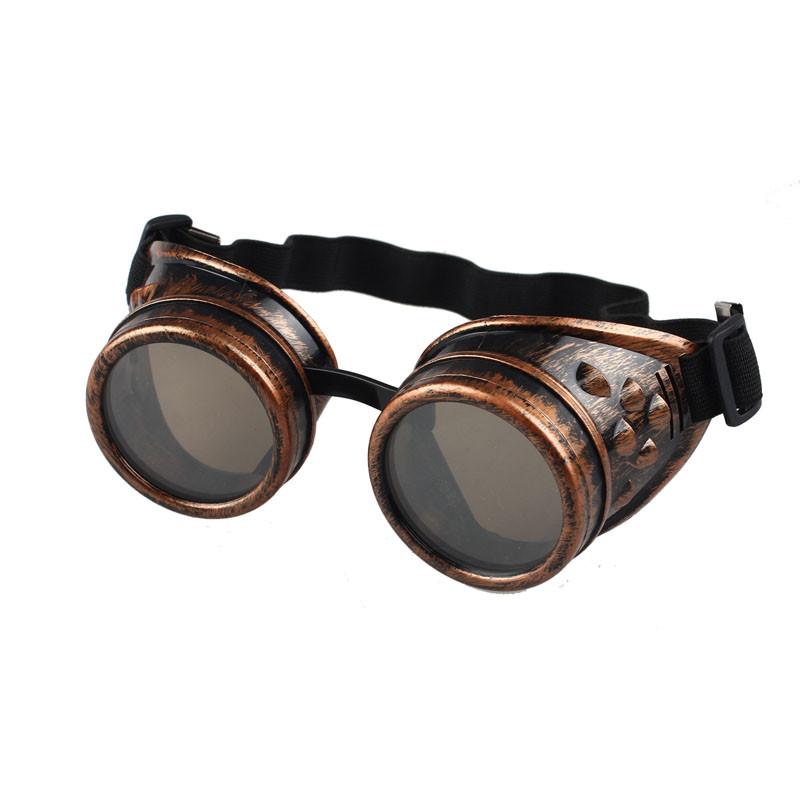 Очки в стиле Стимпанк (коричневые гогглы)