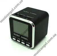 Портативная колонка Music Angel JH-MD08 - MicroSD, FM, дисплей, эквалайзер. Оригинал!