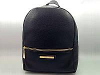 Женский рюкзак Michael Kors, вместительный рюкзачок черного цвета