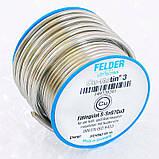 Припій Felder S-Sn97Cu3 м'який 2.7 мм 100г, фото 2