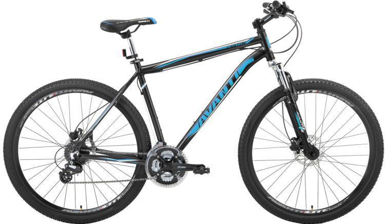 """Горный велосипед AVANTI CANYON  26"""" 21""""  Черный/Синий"""