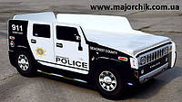 Кровать машина Хаммер полицейская детская машинка Hummer