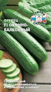 Семена Огурец  Оконно-балконный F1,  0,2г   Седек, годен до 12.19г.