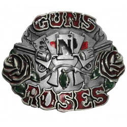Пряжка Guns'n'roses