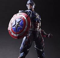 Фигурка Капитан Америка Мстители 27 см Play Arts