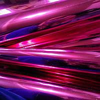 Термопленка флекс фуксия глянец  для печати на ткани розовая малиновая  зеркальная