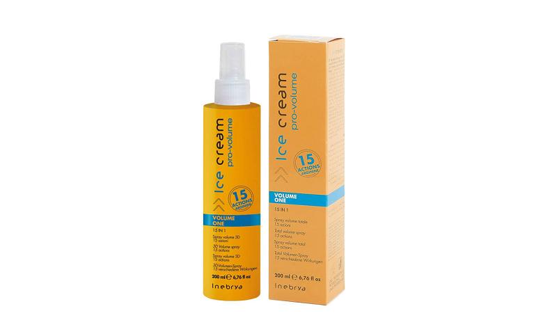 Спрей для придания объема волос Inebrya Ice Cream Volume One 15 in 1 Spray