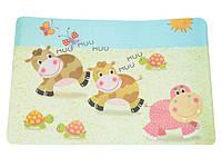 Детский сервировочный коврик Fissman КОРОВКИ на обеденный стол (Пластик)