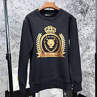 Кофта мужская Billionaire Gold Lion 18225 черная