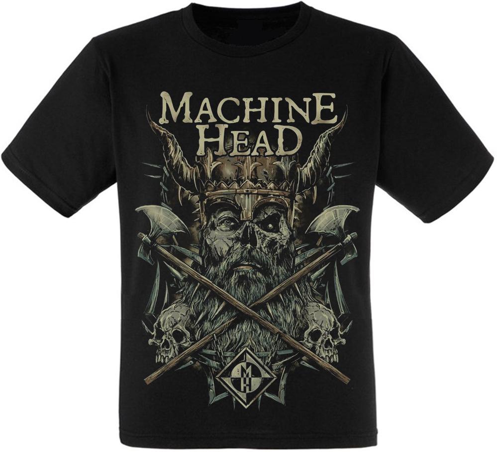 Футболка Machine Head (viking with axes)