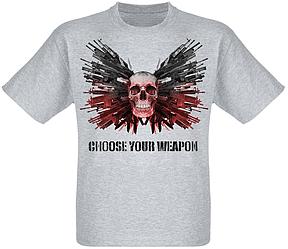 Футболка Chose Your Weapon (меланж)