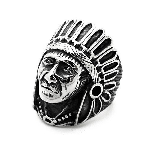 """Кольцо """"Индеец"""""""