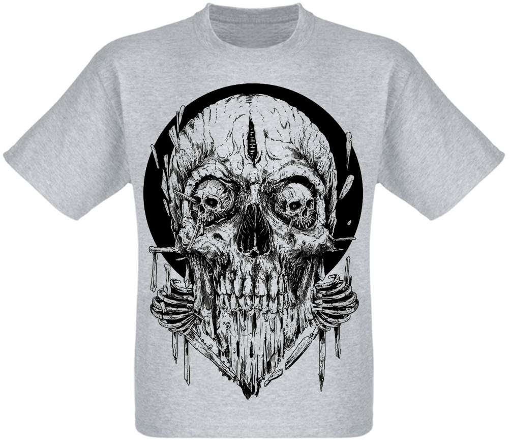 Футболка Skull with Eyes Skull Shape