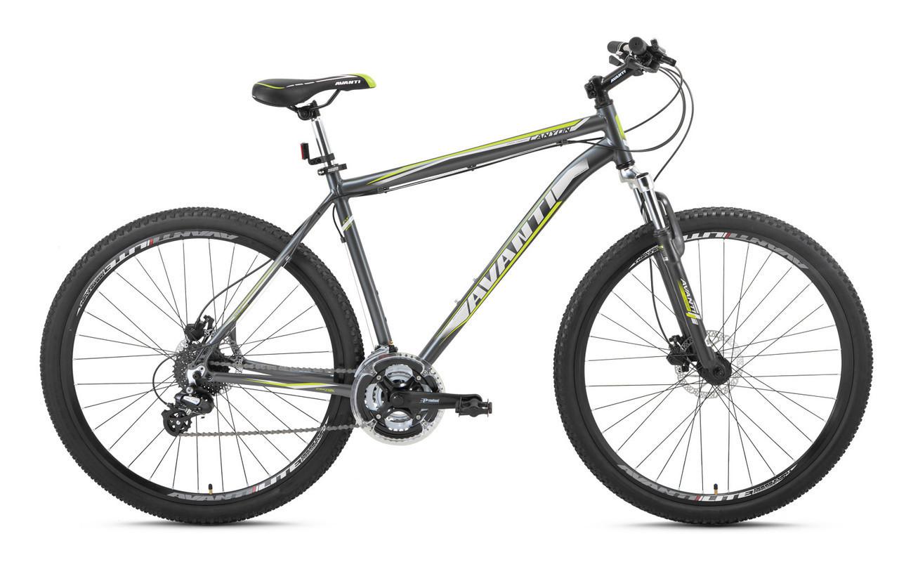 """Горный велосипед AVANTI CANYON 26"""" 21""""  Серый"""