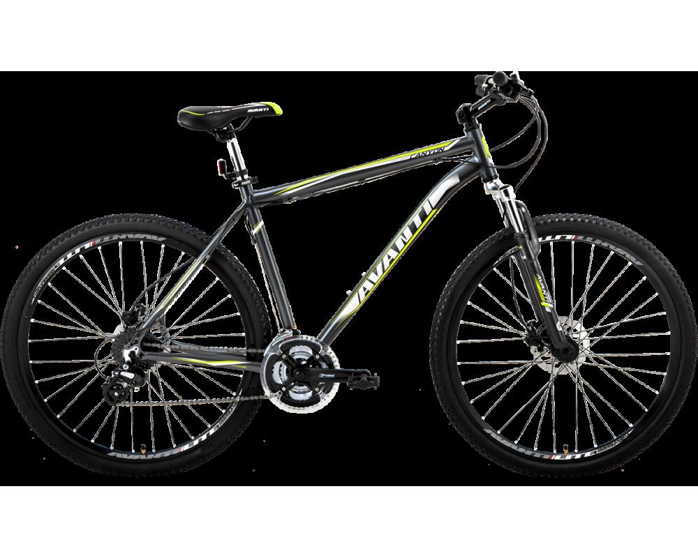"""Горный велосипед Avanti CANYON 26"""" алюминиевый с дисковыми гидравлическими тормозами, Серый"""
