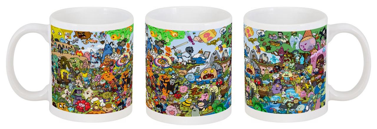 Кружка Adventure Time (Час Пригод)