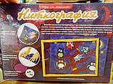 Набор для творчества 'Ниткография' Совы на ветке (NG-01-04), фото 4