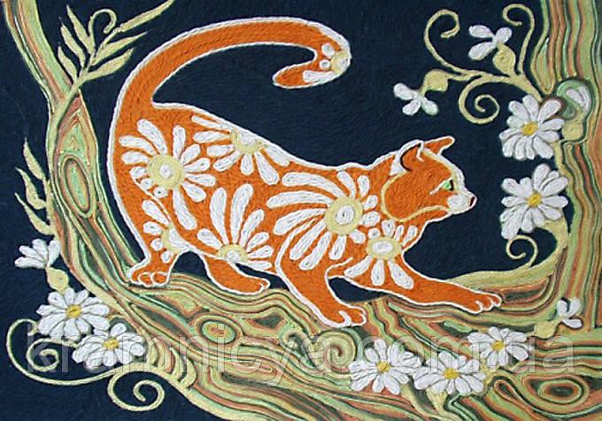 Набор для творчества 'Ниткография' Сказочный кот (NG-01-05)