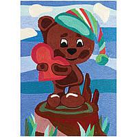 Набор для творчества 'Ниткография' Мишка с сердцем (NG-01-09)