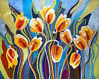 Набор для творчества 'Ниткография' Тюльпаны (NG-01-06), фото 1