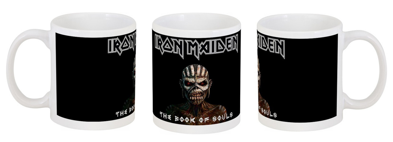 """Кружка Iron Maiden """"The Book of Souls"""""""