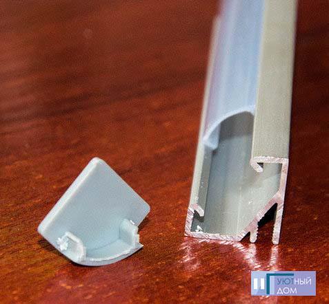 Алюминиевый профиль  cветодиодный ПС5-1