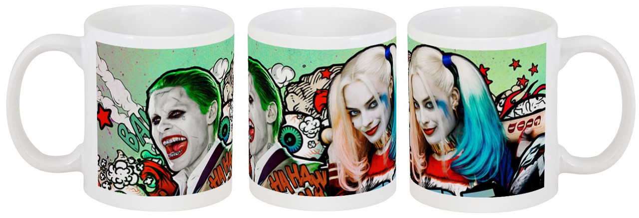 """Кружка Suicide Squad """"Joker And Harley Quinn"""""""