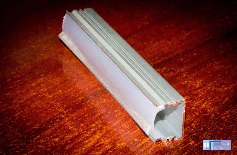 Алюминиевый профиль  cветодиодный ПС7-1
