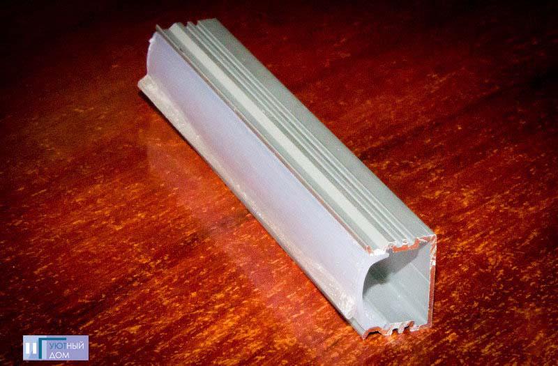 Алюминиевый профиль  cветодиодный ПС7-2
