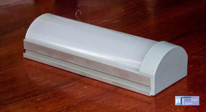 Алюминиевый профиль  cветодиодный ПС4-2