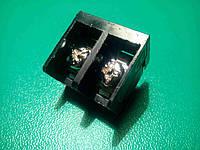 Клеммная контактная колодка под пайку двухконтактная  винтовая HB9500, фото 1