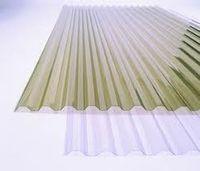 Профилированный ПВХ шифер Salux (Салюкс) дымчатая волна