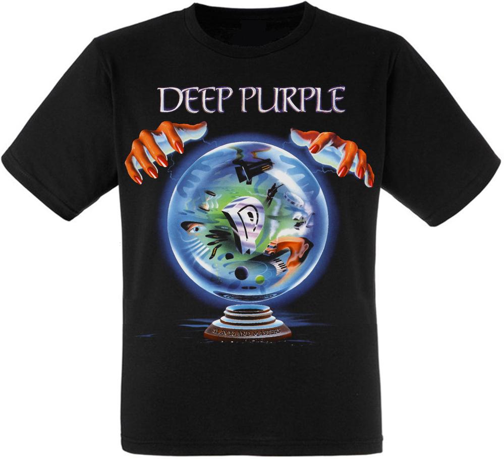 """Футболка Deep Purple """"Slaves and Masters"""""""
