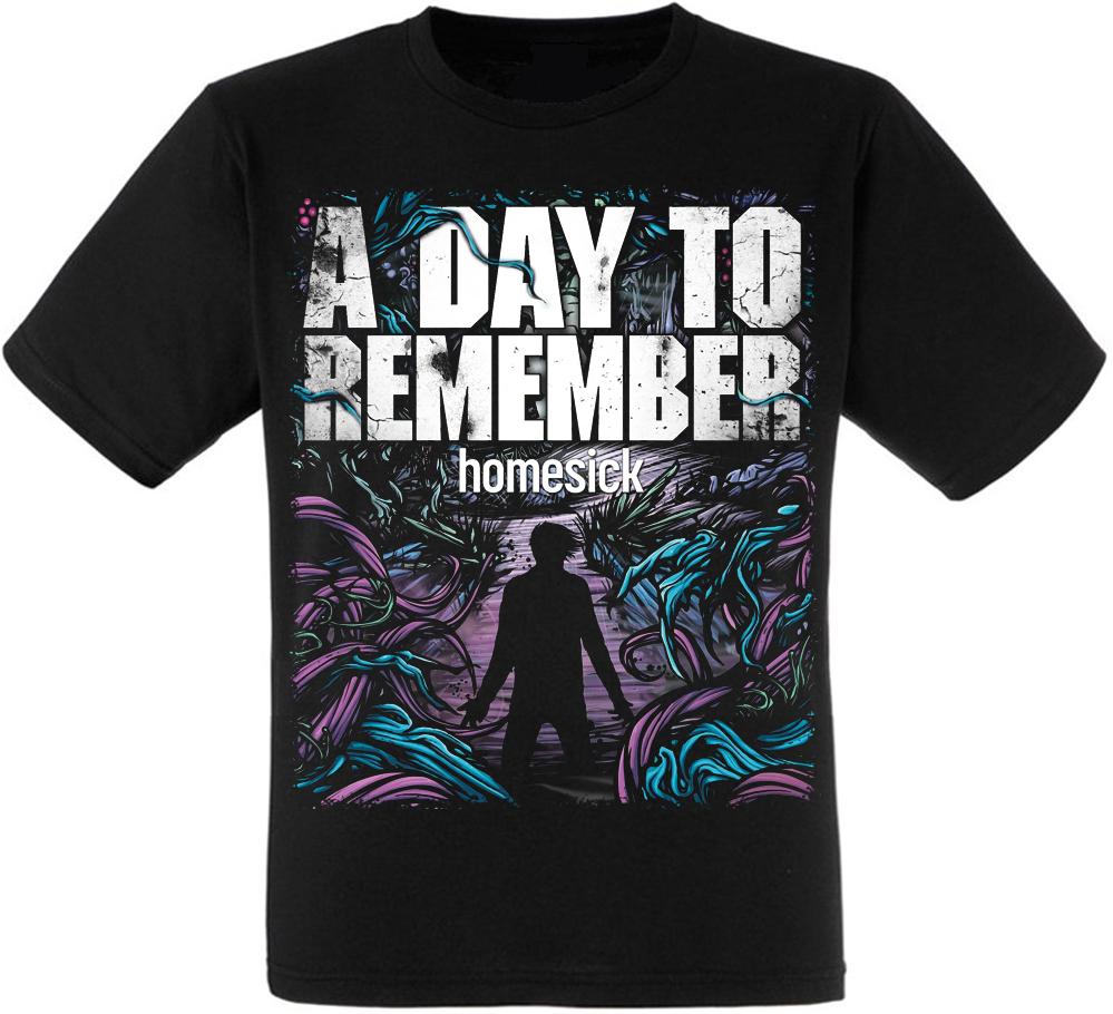 "Футболка A Day To Remember ""Homesick"""