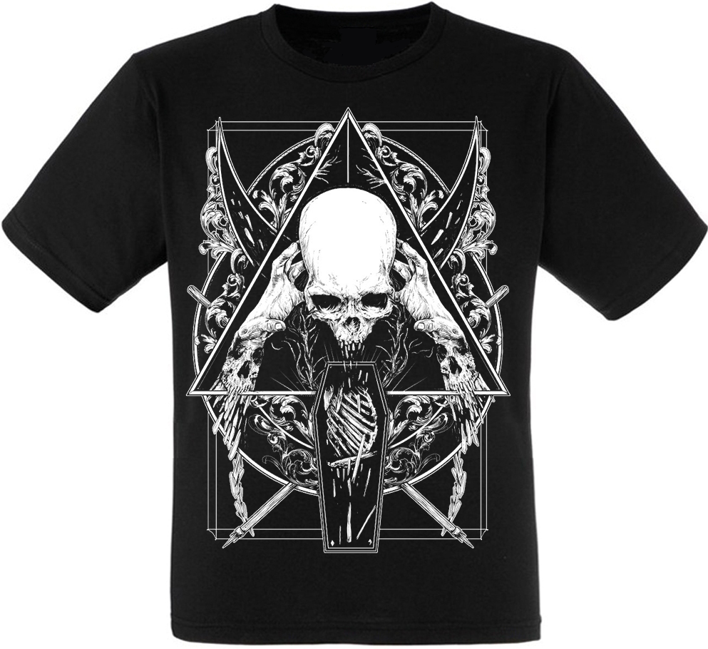 Футболка Skull in a Triangle