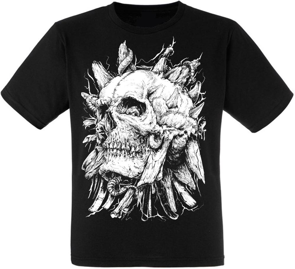 Футболка Skull with Horns