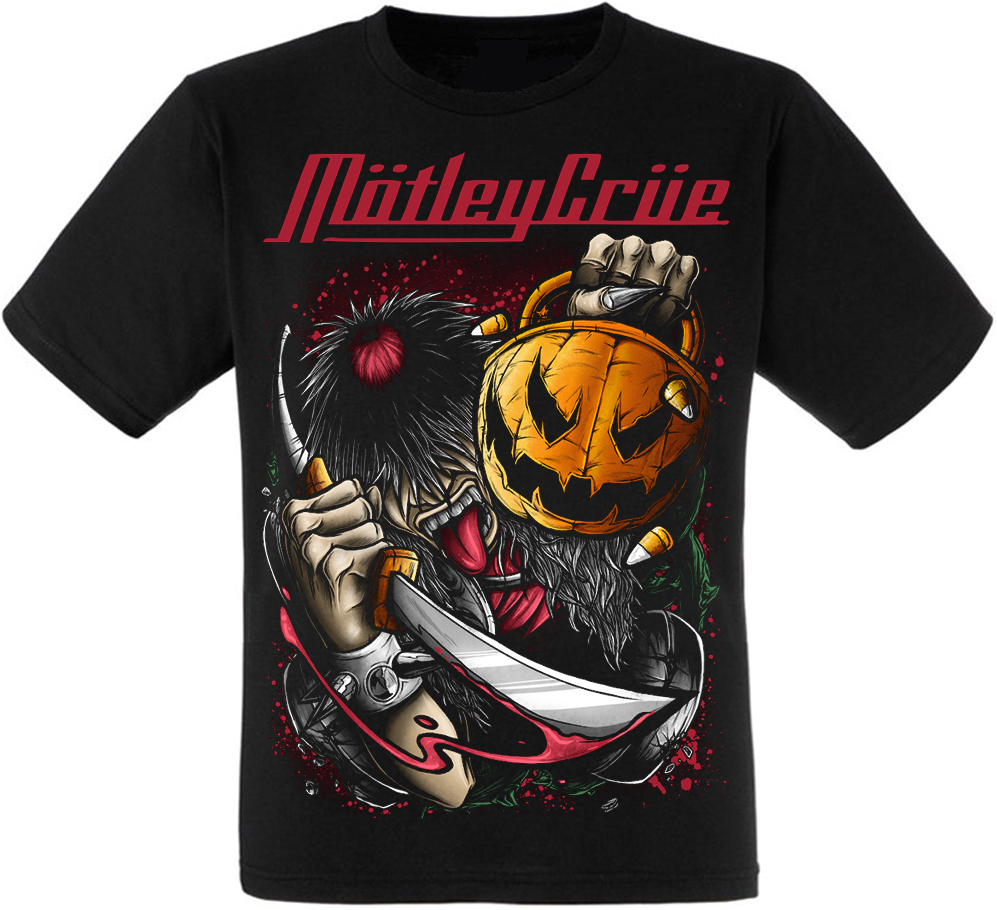 Футболка Motley Crue (pumpkin)