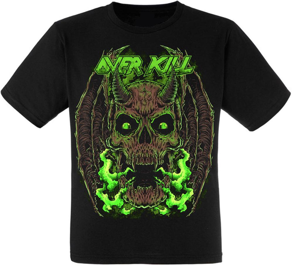 Футболка Overkill (skull)