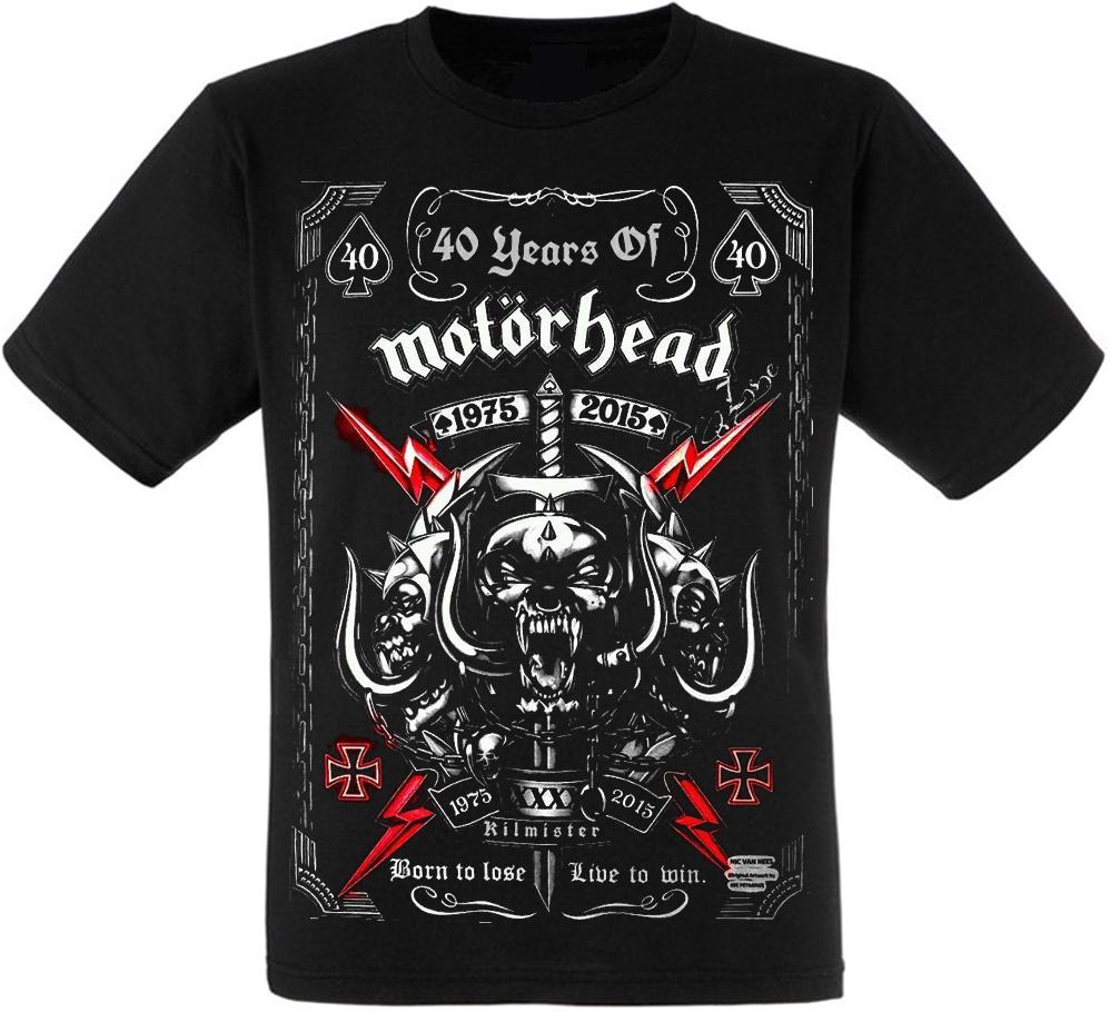 "Футболка Motorhead ""40 Years Of Motorhead"""