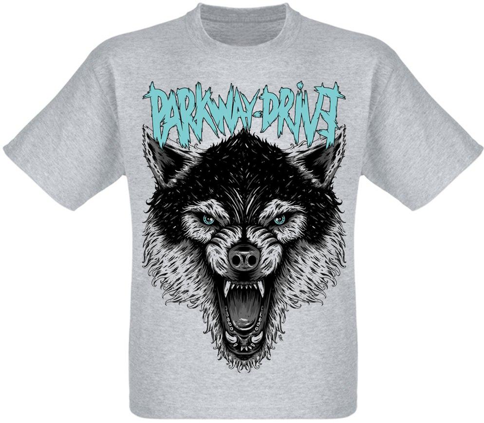 """Футболка Parkway Drive """"Wolf"""" (меланж)"""