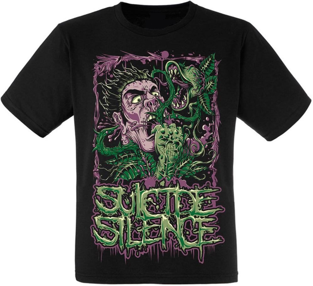 Футболка Suicide Silence (mad plants)