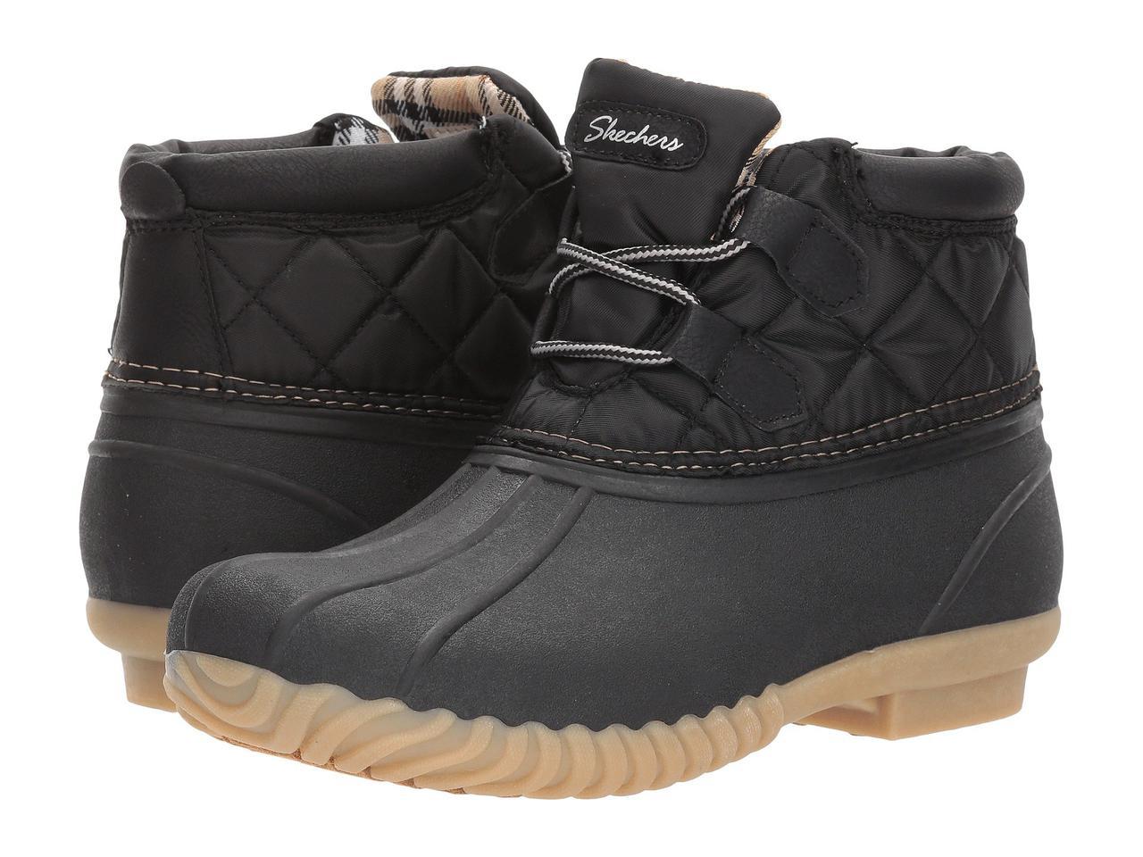 Ботинки Сапоги (Оригинал) SKECHERS Hampshire Black - TopUSA